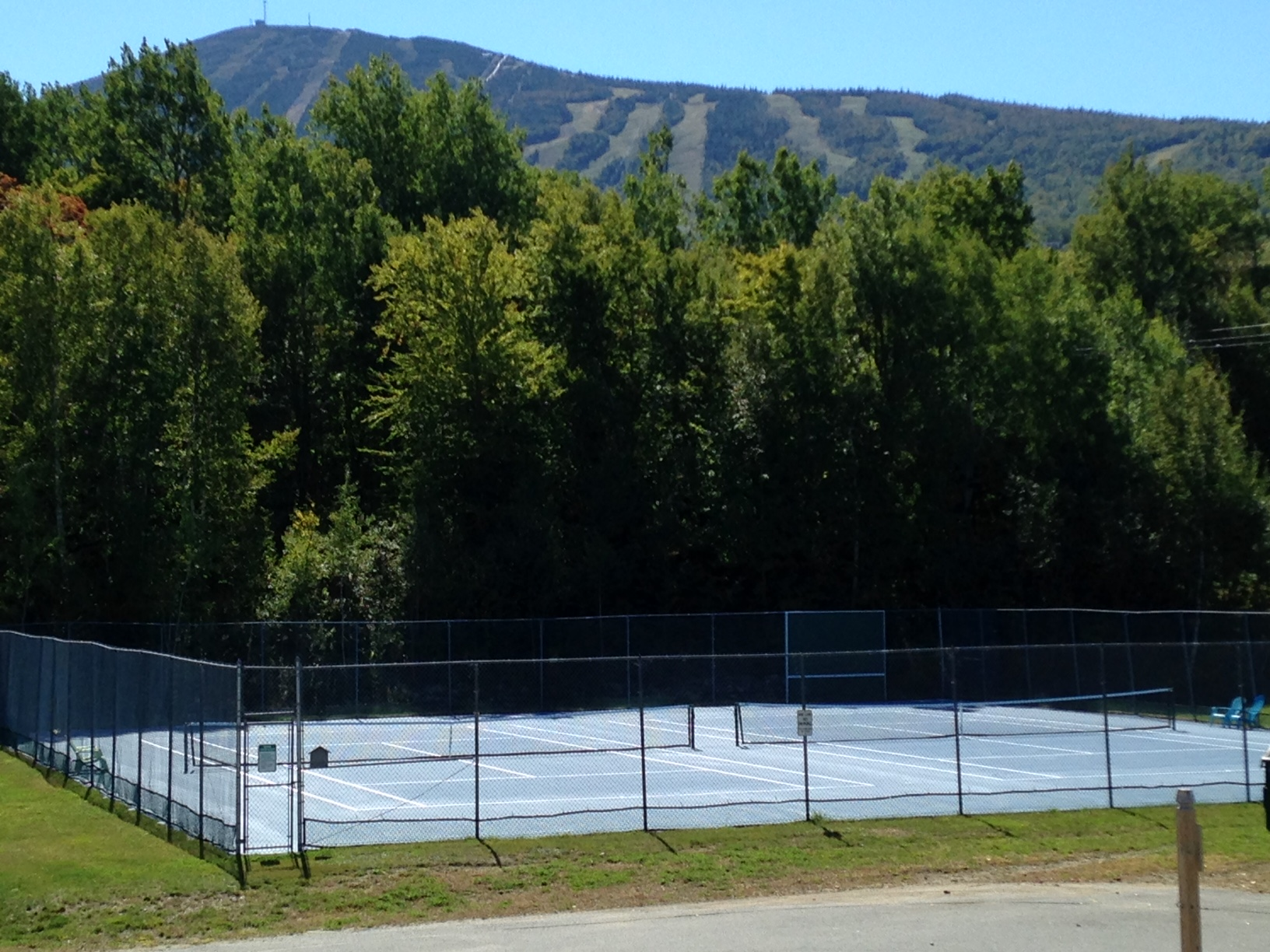 Snowbrook's Tennis Courts